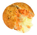 Salmon And Cheese Filled Fish Cake
