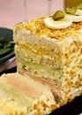 Salmon And Egg Loaf Royalty Free Stock Photo