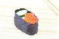 Salmon Egg Sushi Royalty Free Stock Photo