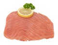 Salmon fresh smoked graved filet Royalty Free Stock Photo