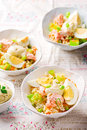 Salmon and Rice Salad. Royalty Free Stock Photo