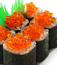 Salmon Roe Roll Stock Photo