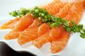 Salmon seshimi Royalty Free Stock Image