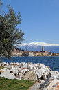 Salo at Lake Garda Stock Photo