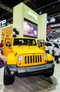 Salon de l automobile de jeep thailand Images stock