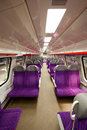 Salon of high speed train Stock Images
