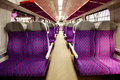 Salon of high speed train Stock Photos