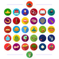 , salon, hotels, nature and other web icon in flat style. and other web icon in flat style. icons in set collection.