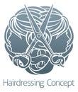 Salon Stylist Hairdresser Concept Royalty Free Stock Photo
