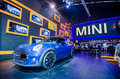 Salone dell automobile di mini cooper thailand Immagine Stock