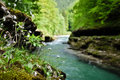 Salsa river is a in austria Stock Photo