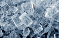 Salt crystals a macro photography Royalty Free Stock Photo