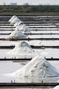 Salt farm Royalty Free Stock Image