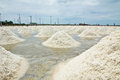 Salt farm Stock Images