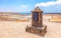 Salt fields photography of lanzarote canary islands spain Stock Photo