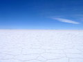 Salt Flats Bolivia Royalty Free Stock Photo