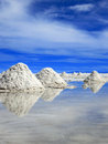 Salt Flats, Uyuni, Boliva Royalty Free Stock Photo