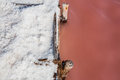 Salt On The Ground From Pink W...