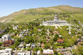 Salt Lake City Capitol building and neighborhood. Royalty Free Stock Photo