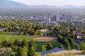 Salt Lake City skyline with Capitol building, Utah Royalty Free Stock Photo