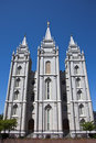 Salt Lake Temple Royalty Free Stock Photos