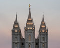 Salt Lake Temple Royalty Free Stock Photo