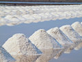 Salt pan Stock Photos