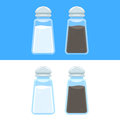 Salt and pepper icons
