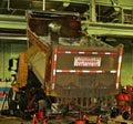 stock image of  Salt truck 2635