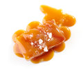 Salted caramel candy Royalty Free Stock Photo