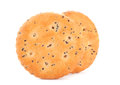 Salted cookie Royalty Free Stock Photos