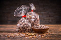 Salted roasted peanuts Royalty Free Stock Photo
