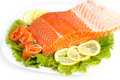 Salted salmon Royalty Free Stock Photography
