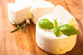 Salted soft cheese Royalty Free Stock Photo