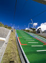 Salto de esquí de Lillehammer Foto de archivo libre de regalías