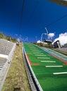 Salto de esqui de Lillehammer Foto de Stock Royalty Free