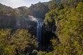 Salto Ventoso Waterfall - Farroupilha, Rio Grande do Sul, Brazil Royalty Free Stock Photo