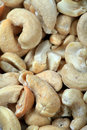 Salty cashew nuts Stock Photography