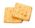 Salty Crackers Royalty Free Stock Photo