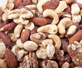 Salty Deluxe Mixed Nuts Stock Images