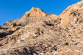 Salty mountains in the Atacama Desert, Chile Royalty Free Stock Photo