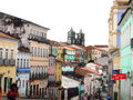 Salvador da bahia brazil são de todos os santos and known as or is the largest city and the third largest urban Stock Photo