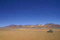 Salvador dali desert in southern bolivia part of atacama Stock Image