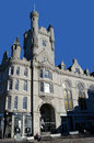 The salvation army citadel castlegate aberdeen scotland castellated in at east end of union street Stock Images