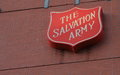 Salvation Army Sign Royalty Free Stock Images