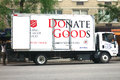 Salvation Army Truck Royalty Free Stock Photo