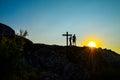 Salvation cross faith unity god Stock Photography