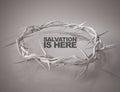 Salvation is Here Crown of Thorns 3D Rendering