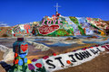 Salvation Mountain (HDR) Royalty Free Stock Photo