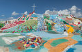 Salvation Mountain Royalty Free Stock Photo